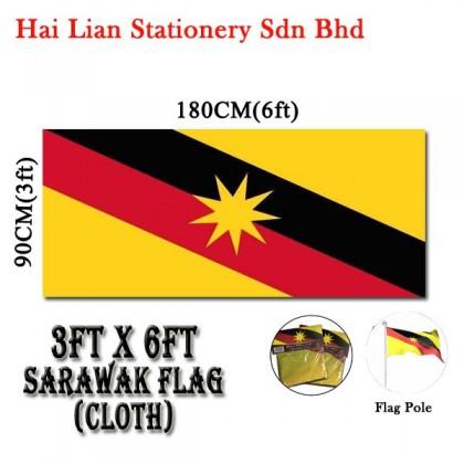3' X 6' Malaysia / Sarawak Flag
