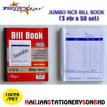 Twin Star 3ply NCR Bill Book