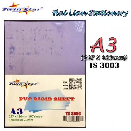Twin Star A4/ A3 PVC Rigid Sheets