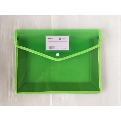 Twin Star PP Envelope Folder [A4 / A5 / F4 Size]